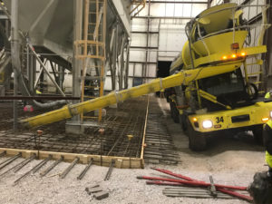 ready mix concrete flooring