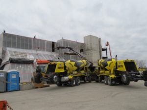 smith ready mix delivering concrete