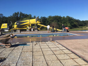 decorative concrete landscaping